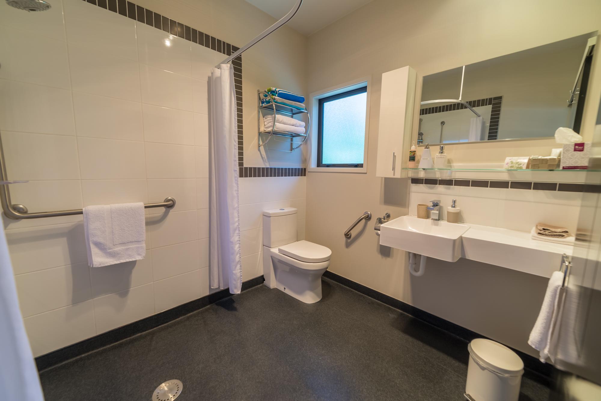 Kea room bathroom